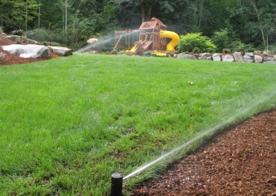 Sprinkler System on Playground